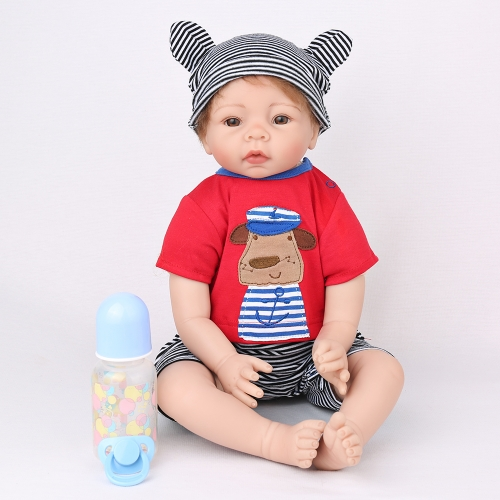 "22"" Toddler reborn Boy Doll Lifelike Baby Andrew Kaydora"