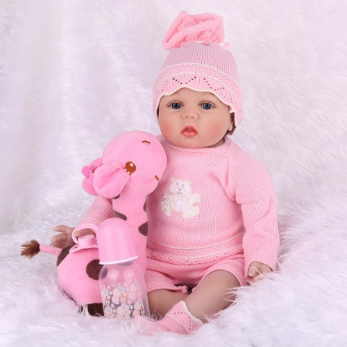 "22"" Handmade Silicone Reborn Baby Doll Lucy kaydora"