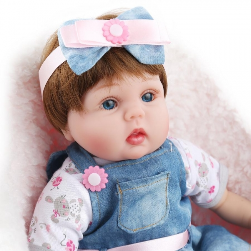 "16"" Cute realistic baby Lucy-B"