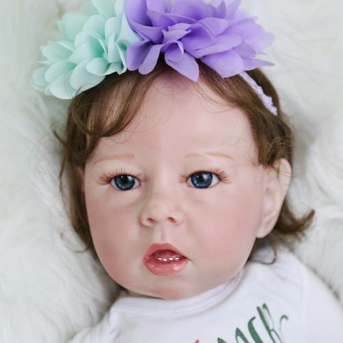 "22"" Reborn Toddlers For Sale Real Life Girl baby Liam Kaydora"