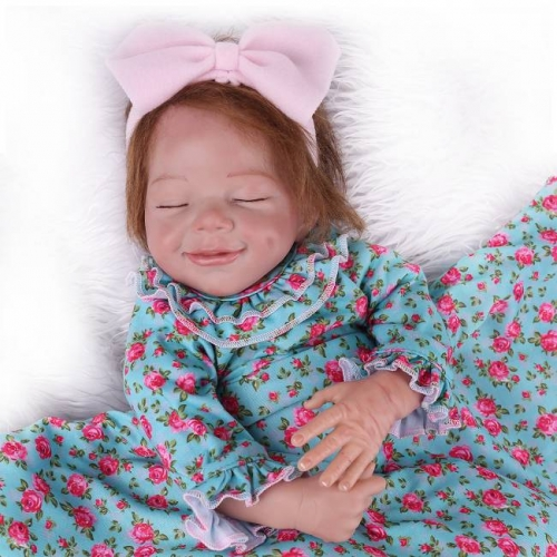 "Sleeping Newborn Reborn Dolls Girl Realistic Doll 22"" April Kaydora"