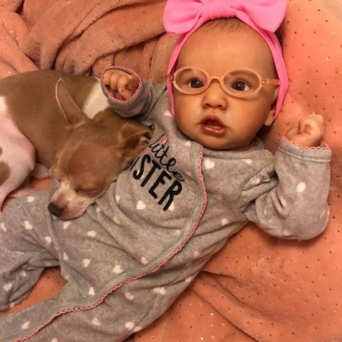 Real Life Maya 22'' Reborn Baby Doll Girl That Look Real