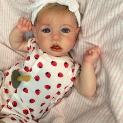 Realistic 22'' Cutest Reborn Baby Doll Girl Saskia