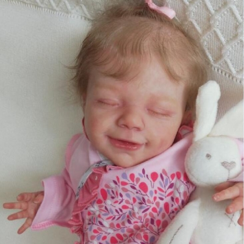 22'' Little April Reborn Baby Doll Girl Sleeping baby