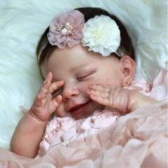 22'' Realistic Truly Baby Girl Doll Girl Little Charlotte Xmas Gift