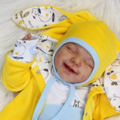 20'' Realistic Little Cute Saran Reborn Baby Doll Toy