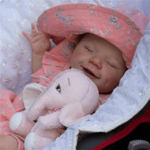 22'' Realistic Sweet Reborn Baby Girl Doll April