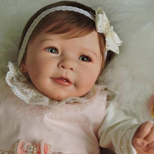 Truly Reborn Doll Lisa Girl Silicone Baby Collectible dolls