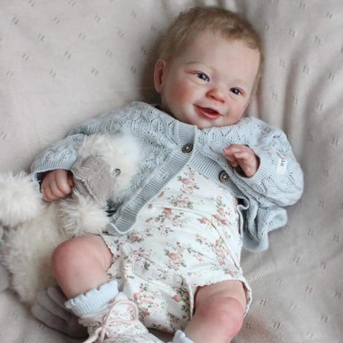"Truly Reborn Baby Doll Kim 17"" With her toys Birthday Gifts"