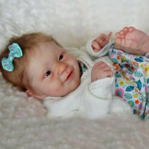 "Smiling Doll Cute Baby Girl Truly Reborn Babies 20"" Toy"