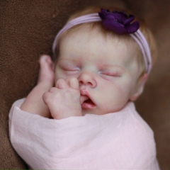18'' Twin A Realistic Reborn Baby Doll To Mother's Gift