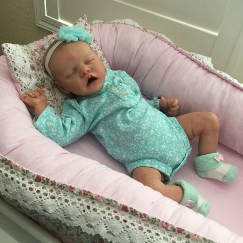 Full Silicone Vinyl Reborn Baby Doll 12'' Twin A