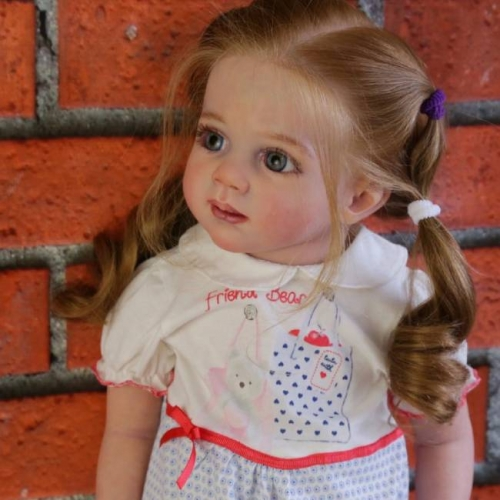 Long Hiar Xandria Toddler Reborn Kids For Girl Boy