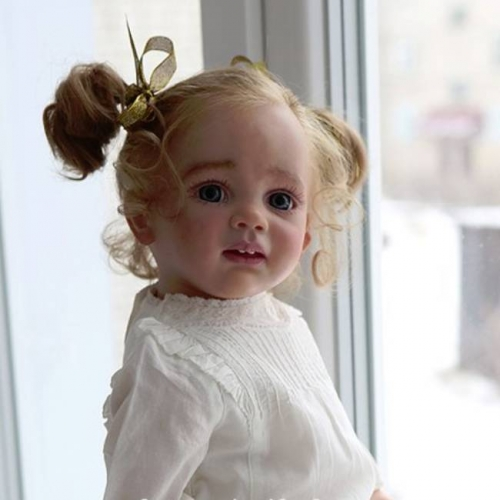 "24"" Alexis Reborn Baby Doll Girl For Adoption"