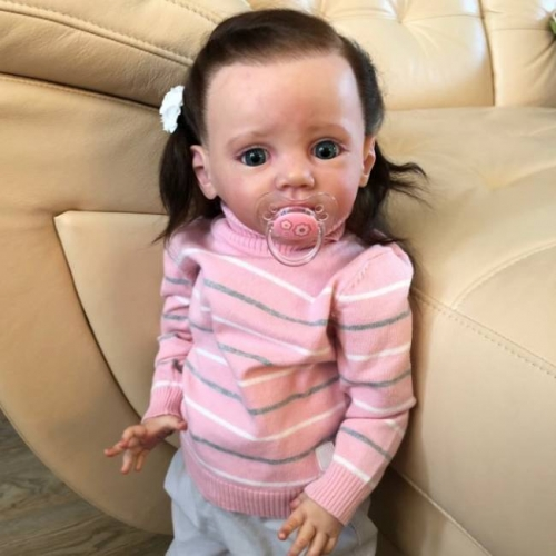 Realistic Super-Cute Little Girl Afra Reborn Dolls