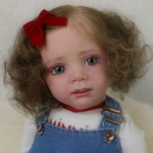 Jenelle Reborn Dolls Cloth Body Babies Heandmade