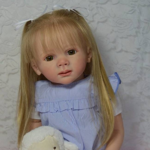 Lifelike Girl Baby Apphia Reborn Toddler Kids Doll