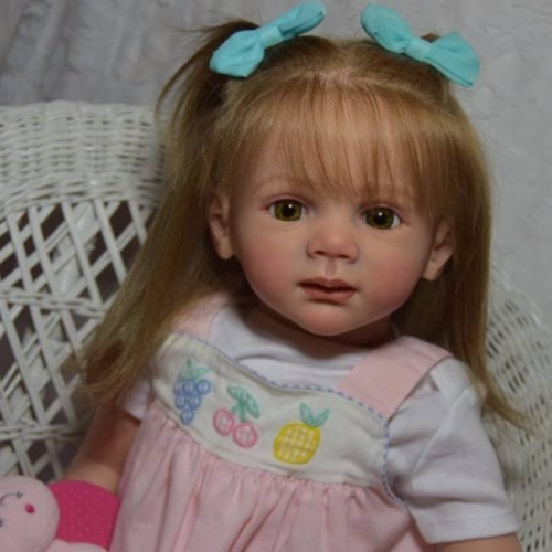"Babies 24"" Girl Toddler Clara Reborn Fake Baby Doll Dale"