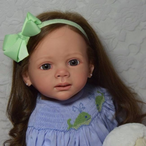 Eileen Girl Baby For Adoption Realistic Reborn Doll