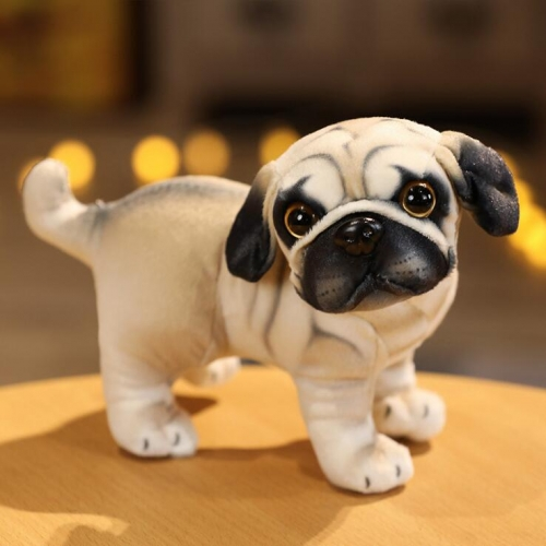 5PCS  Realistic Puppy Pug Dogs Reborn Dogs Animals