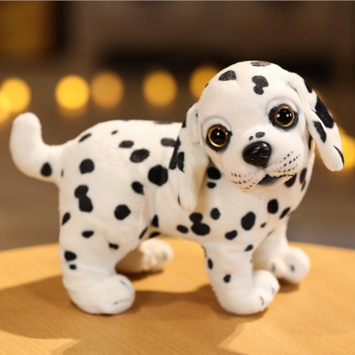 Mini Pet Dalmatian Reborn Dogs Puppy Realistic Dogs